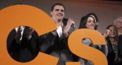 Albert Rivera e Inés Arrimadas, en un acto de campaña.