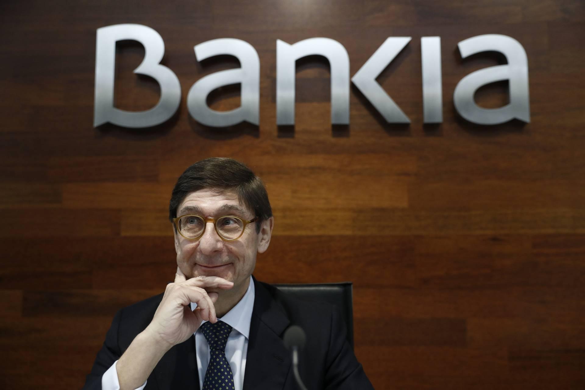 Jose Ignacio Goirigolzarri, presidente de Bankia.