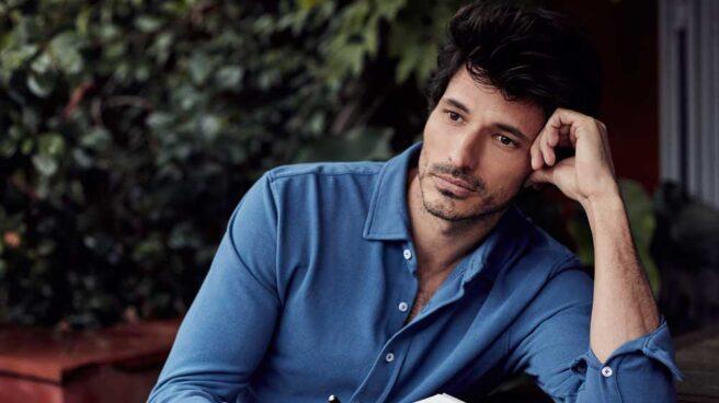 El modelo y actor Andrés Velencoso es la imagen de la firma The Brubaker.