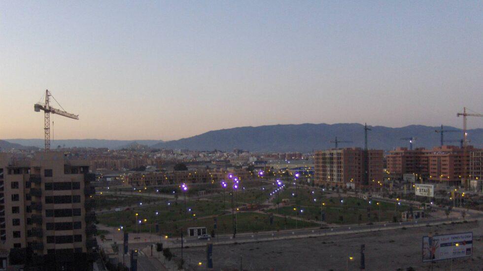 La Vega de Acá, en Almería, un barrio de reciente creación.