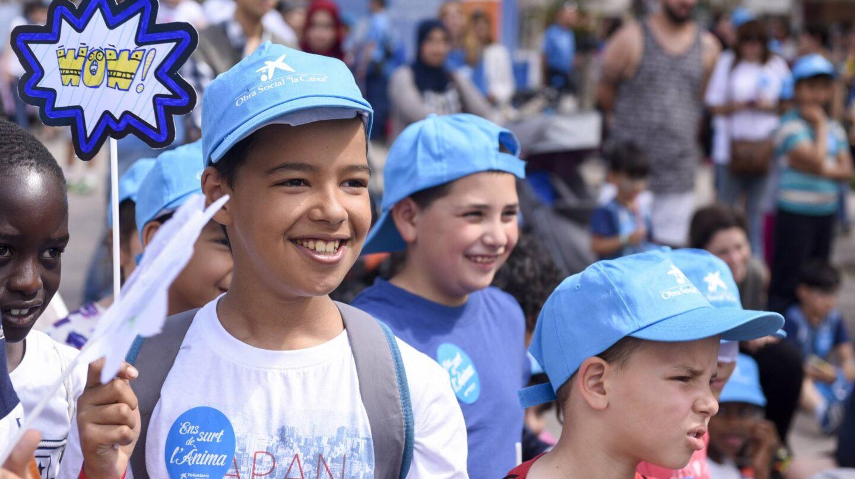 Los niños y jóvenes en peligro de exclusión social son protagonistas en las acciones de la Obra Social La Caixa.