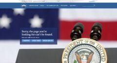 Así responde la web de la Casa Blanca al intentar acceder a la versión en español.