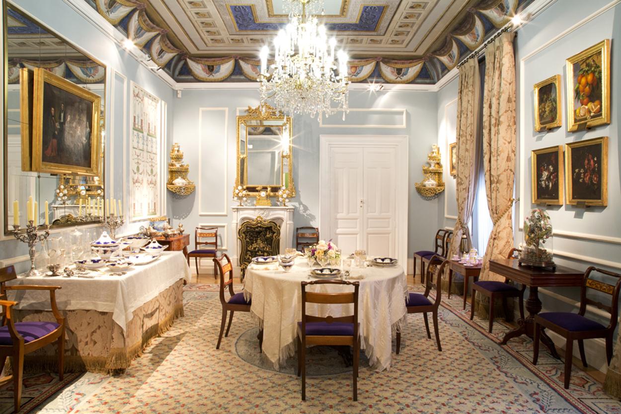 El Museo del Romanticismo hará una visita guiada y, por supuesto, se conocerá su imponente comedor.
