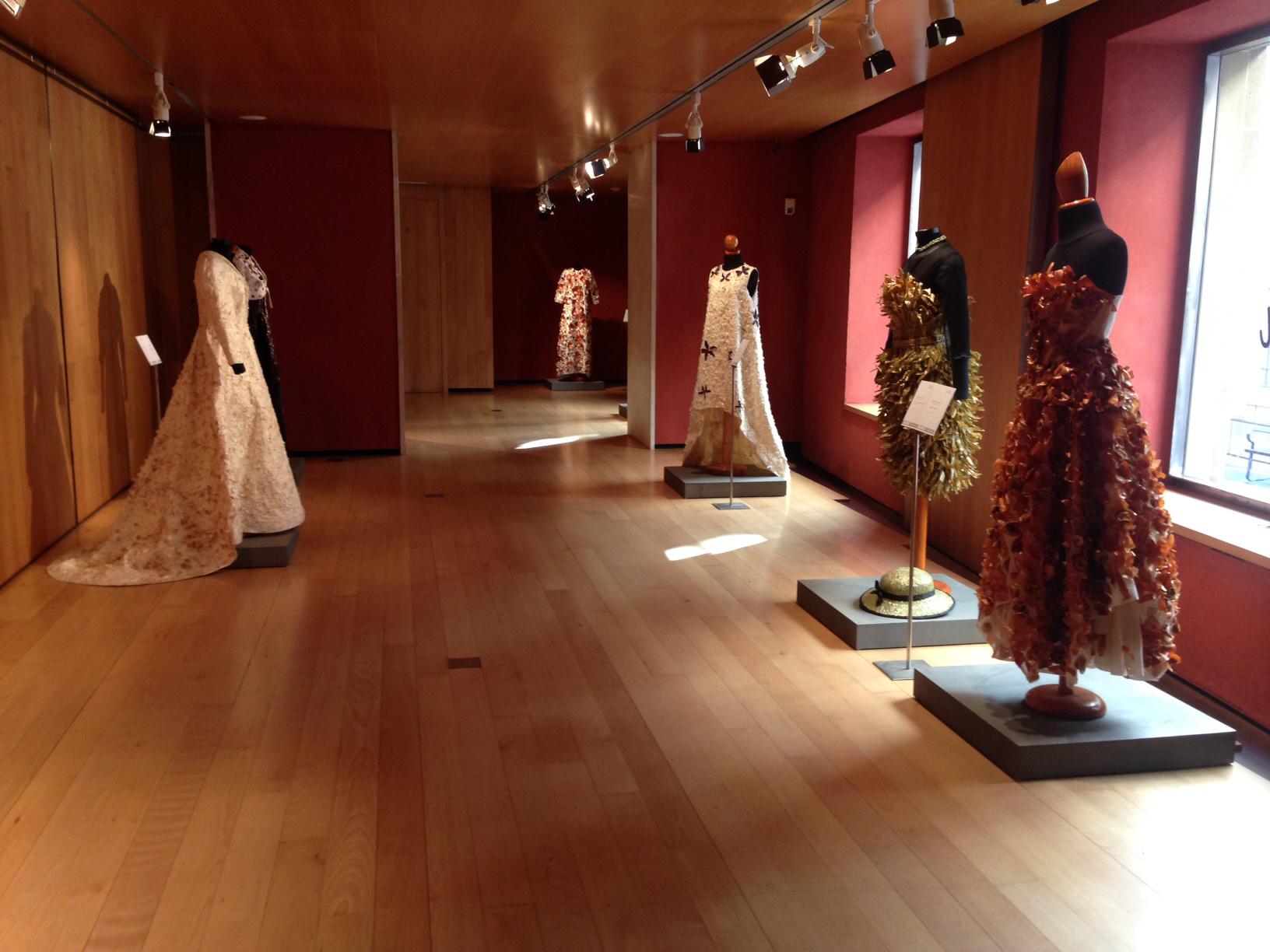 El Museo Nacional del Traje expondrá trajes con verduras de la Huerta de Calahorra.