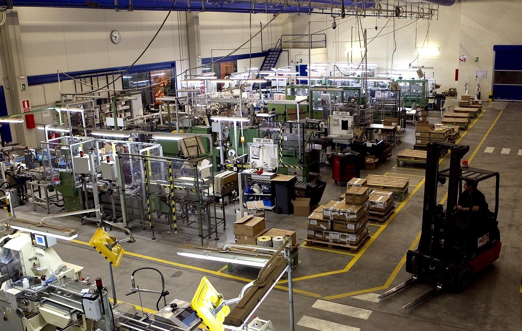 Fábrica de Altadis en Solares.