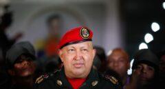 El presidente venezolano, Hugo Chávez, en una de sus últimas imágenes con uniforme militar.