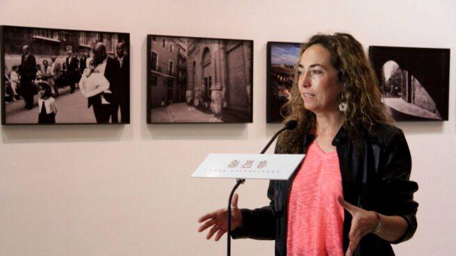 Carolina Punset en un acto en Valencia.