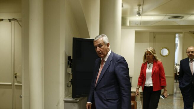 Javier Arenas, en el Senado.