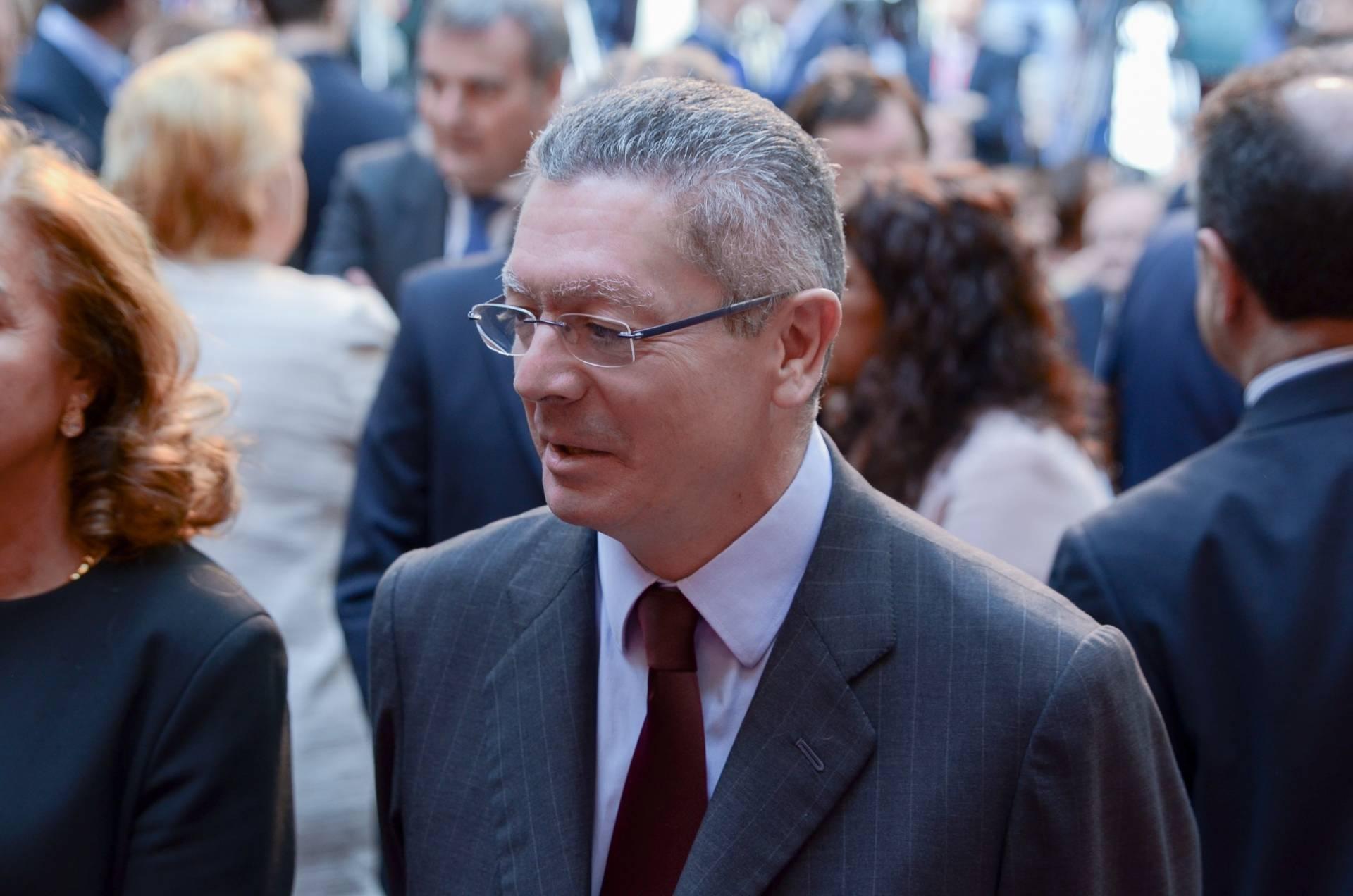 El ex ministro de Justicia y ex alcalde de MadridAlberto Ruiz-Gallardón.