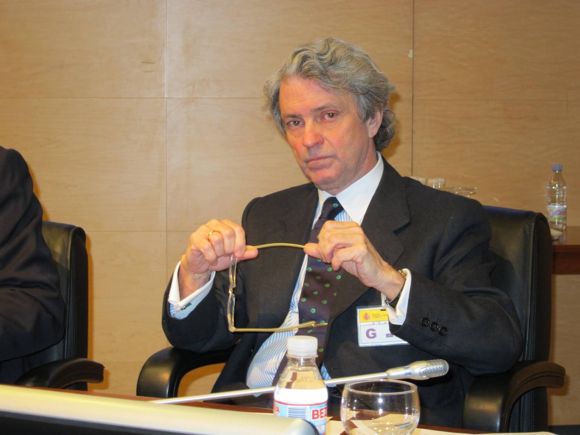 El presidente de Unesa, Eduardo Montes.