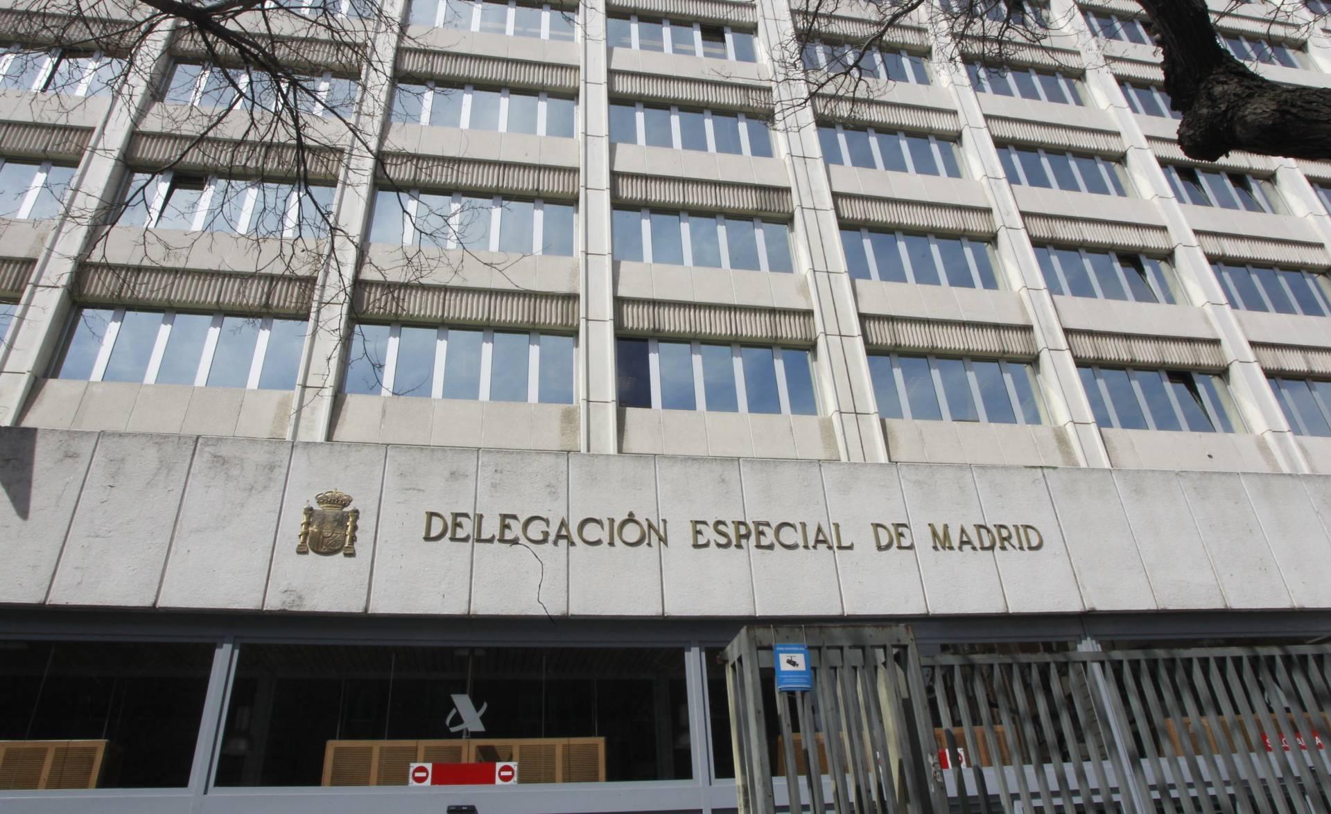 Delegación de Hacienda.