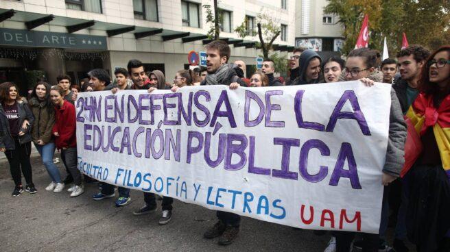 Huelga educativa del pasado 24 de noviembre.