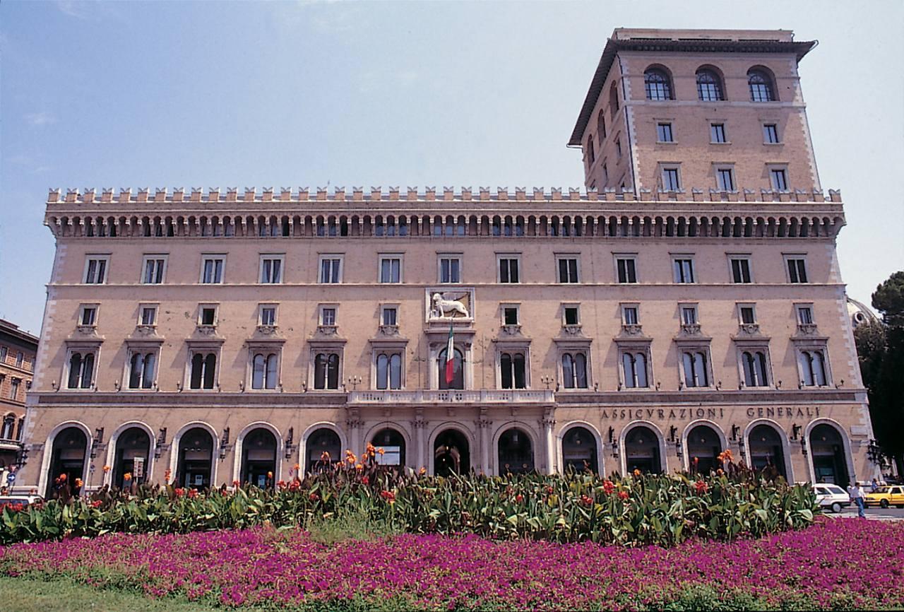 Sede de Generali, en Roma.