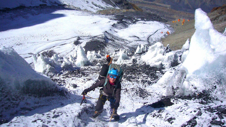La alpinista Lina Quesada.