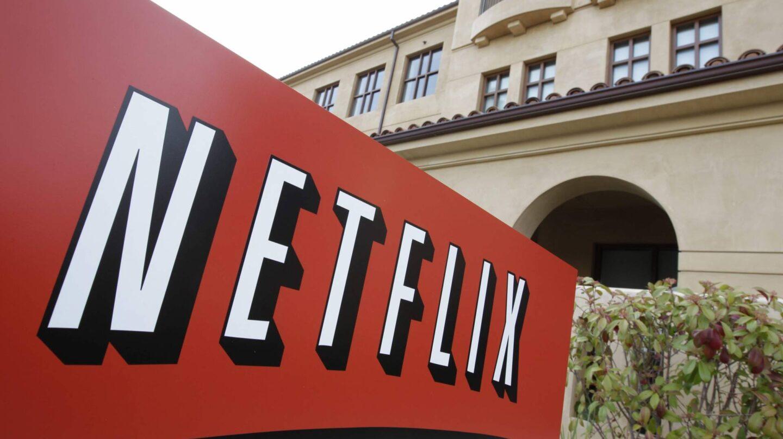 Imagen de la fachada de la sede de Netflix en la localidad californiana de Los Gatos.