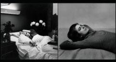 Candy Darling on Her Deathbed y Susan Sontag ( a la derecha)