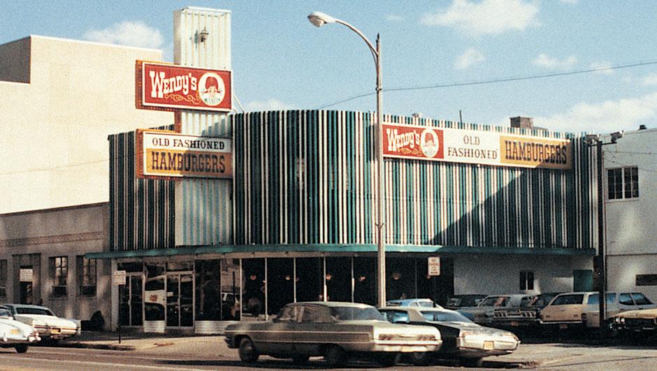 Primer local de Wendy's en Columbus, Ohio.