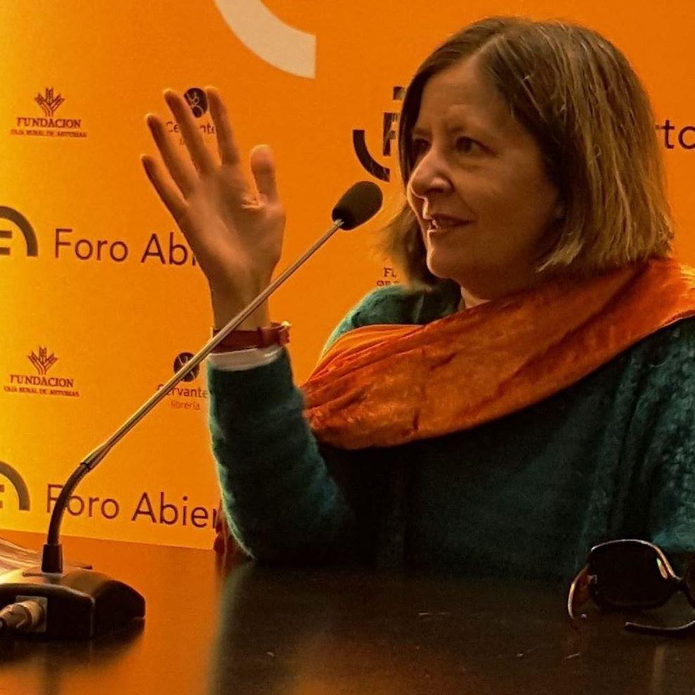 La escritoria y militante socialista, Susana Pérez-Alonso.