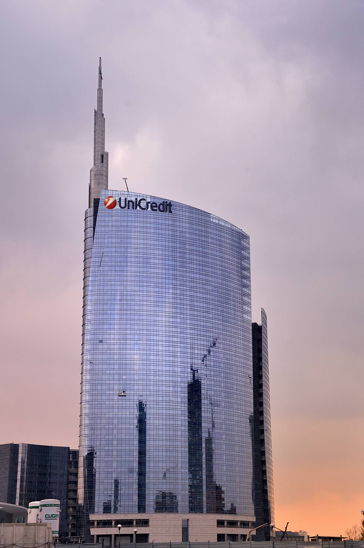 Torre UniCredit, en Milán.