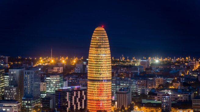 Torre Glòries, en Barcelona.