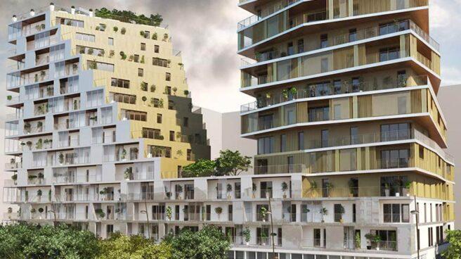 Proyecto residencial de Bouygues Inmobiliaria en París, cuya entrega está prevista para este año.