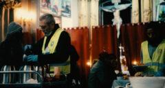 Cándido Méndez, ex secretario general de UGT, en la parroquia de San Antón.