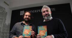 Los periodistas de El Independiente, David García-Maroto y David Page.