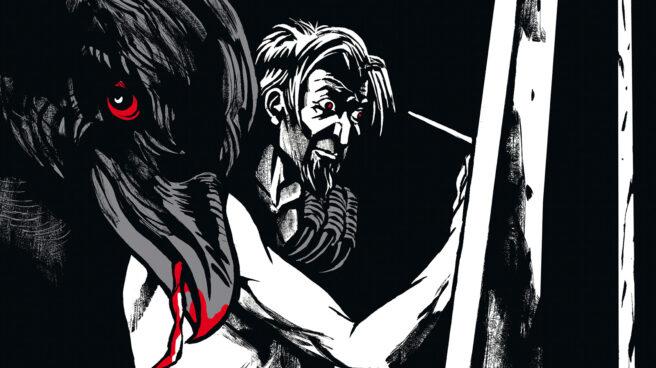 Detalle de la portada de El perdón y la furia.