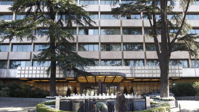 El hotel Villa Magna de Madrid.