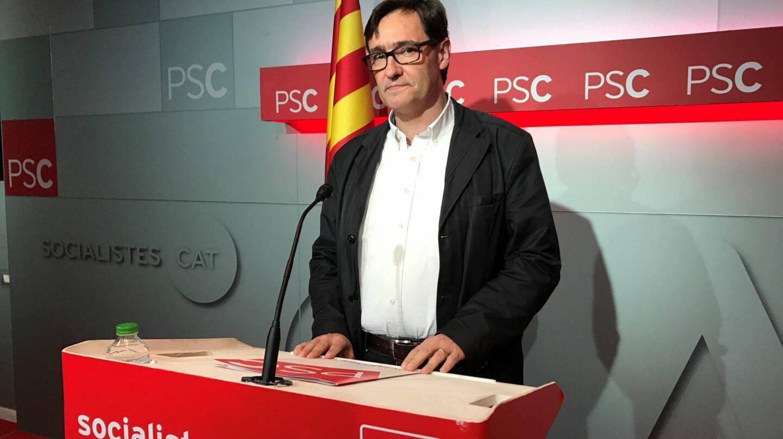 El secretario de organización del PSC, Salvador Illa.