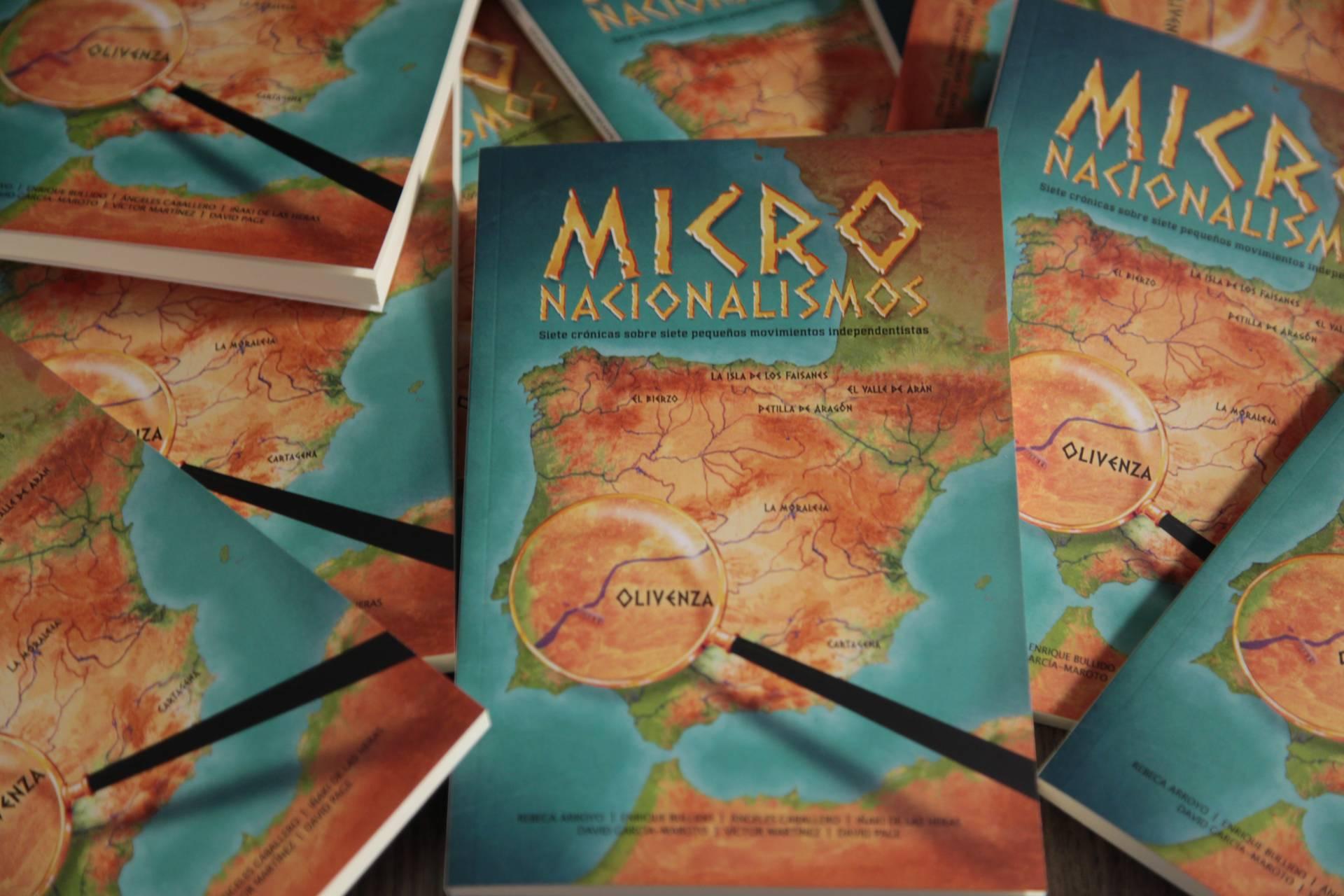 Portada del libro Micronacionalismos.