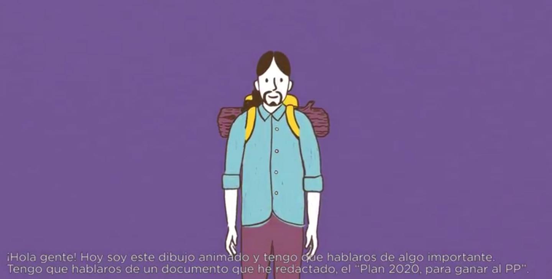 Imagen del vídeo de presentación del proyecto de Iglesias.