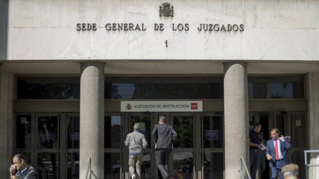 Juzgados de Plaza de Castilla, en Madrid.