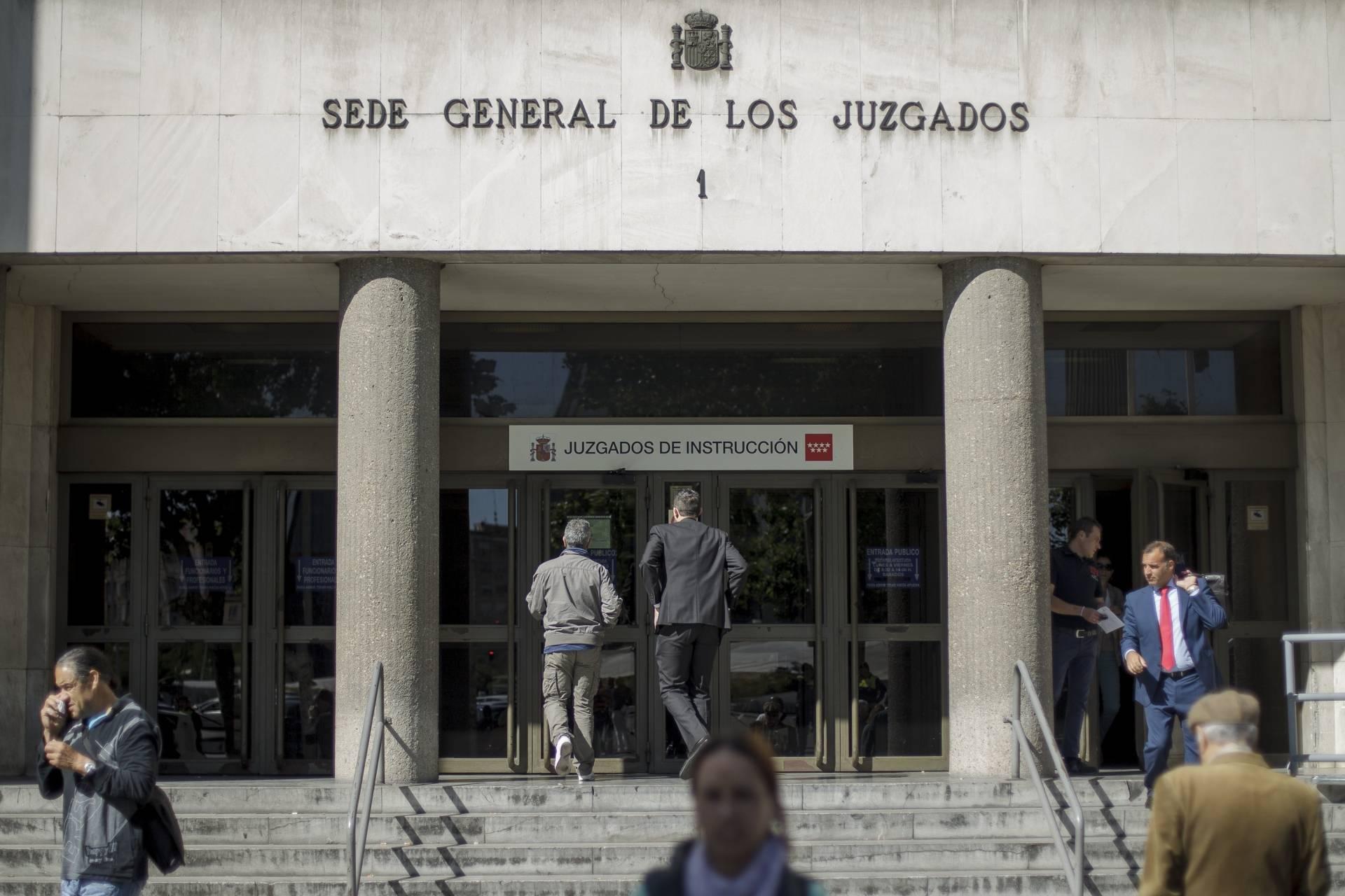 Un funcionario, primer positivo de coronavirus en la Justicia madrileña