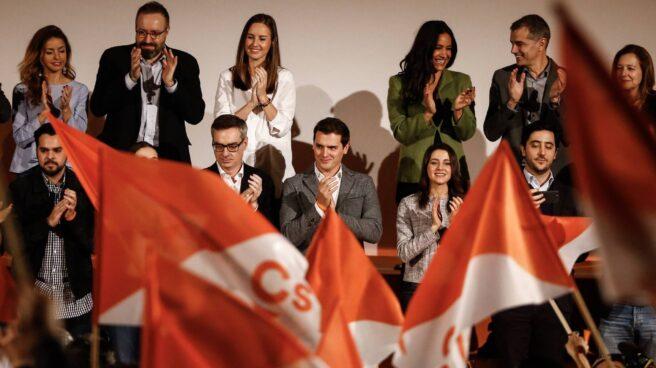 Albert Rivera, durante la presentación de la nueva Ejecutiva de Ciudadanos.