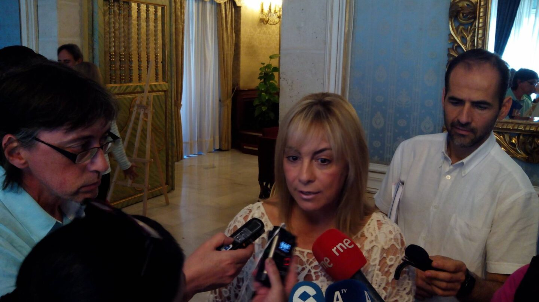 La ex alcaldesa de Alicante Sonia Castedo.