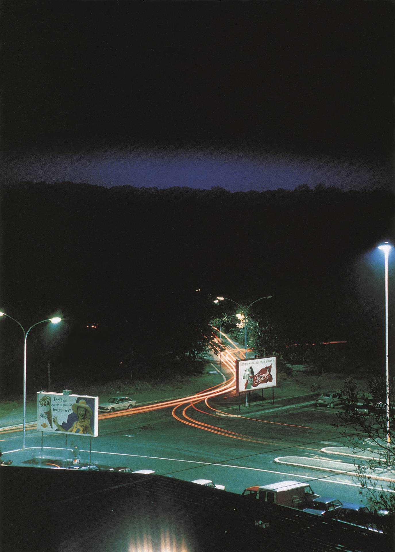 'Piazza Pugliese', from Generic Night Cities. Lewis Baltz.