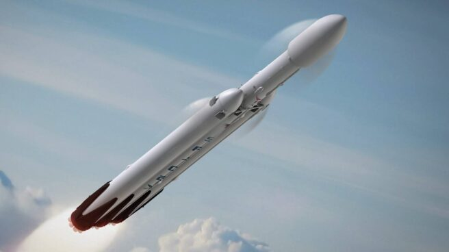 Así será el cohete Falcon Heavy