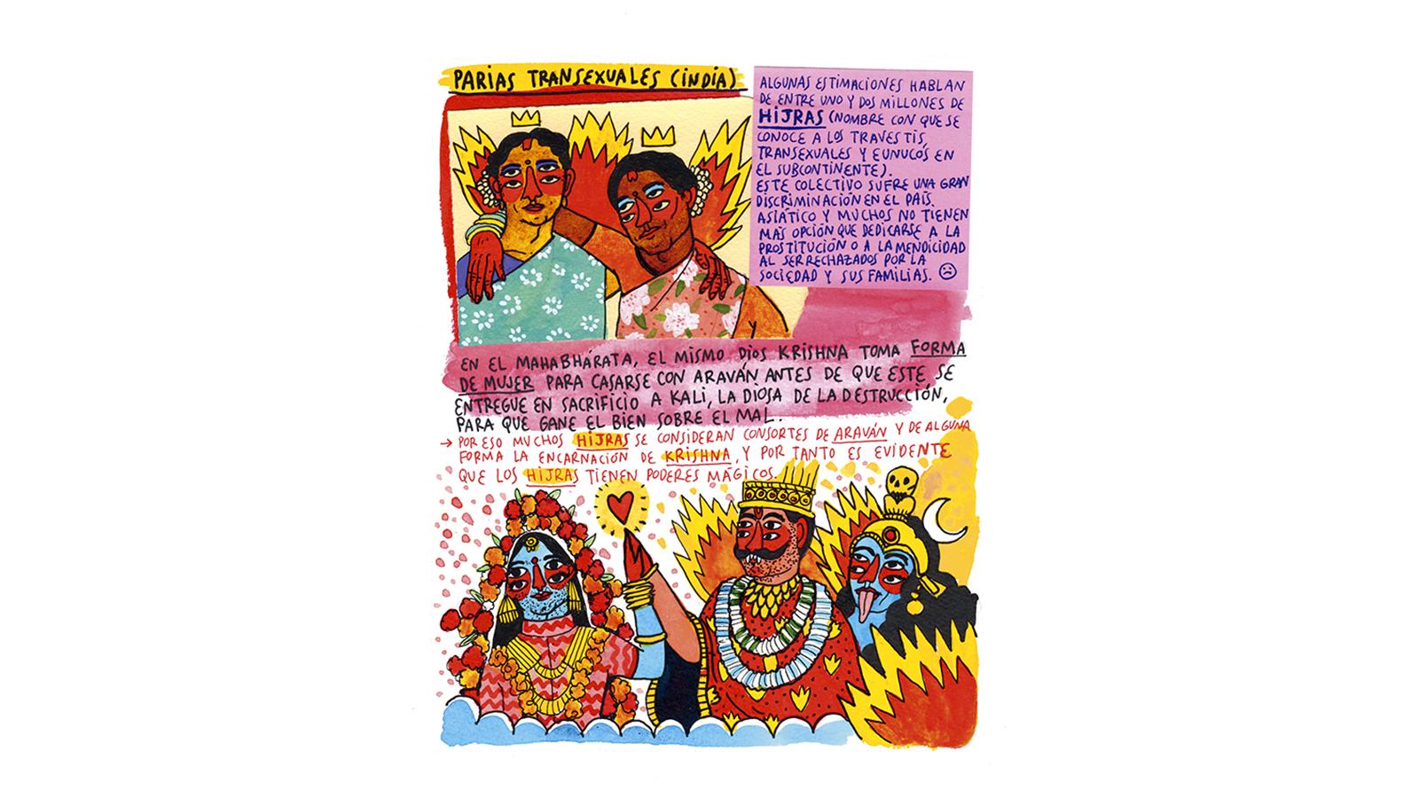 Ilustración del libro de Cavolo