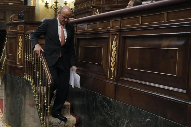 El ministro de Economía e Industria, Luis de Guindos.