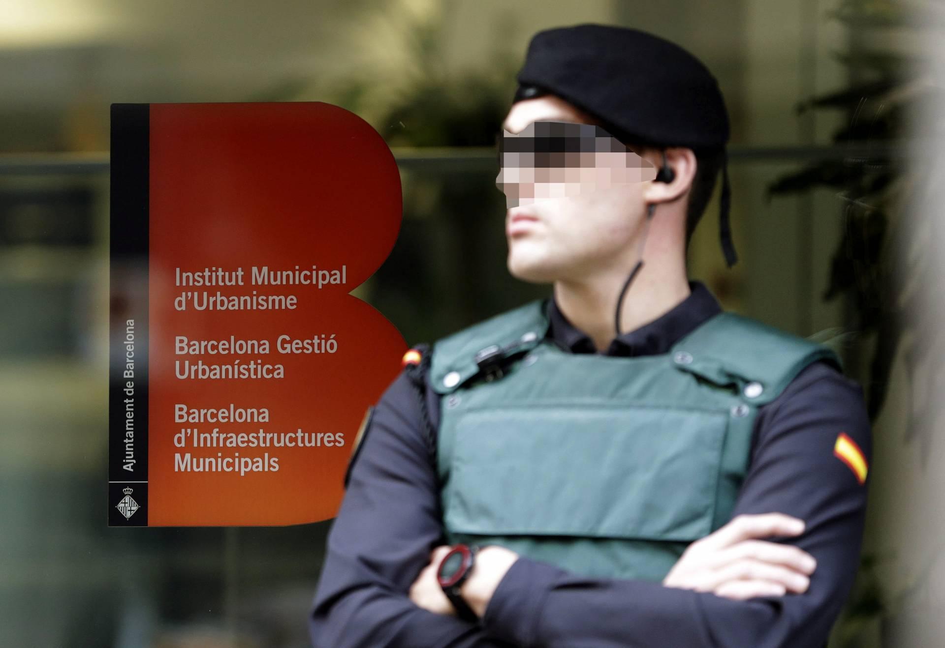 Redada de la Guardia Civil contra Convergencia.