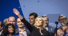 La líder del frente Nacional Marine Le Pen.