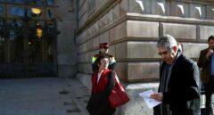 Francesc Homs, a su llegada al juzgado para declarar por el 9-N.