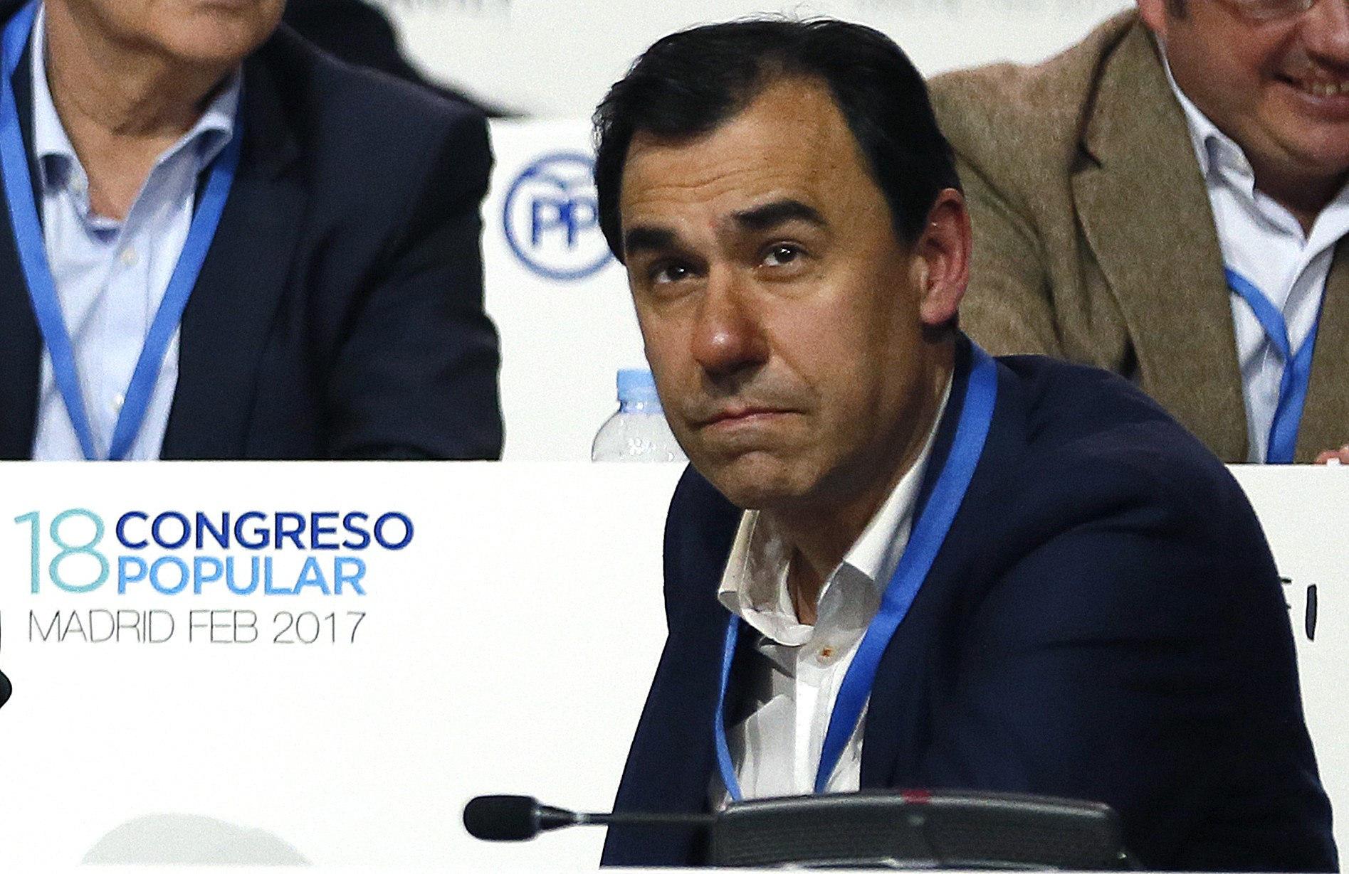 El vicesecretario general de Organización, Fernando Martínez-Maillo, durante el el XVIII Congreso.