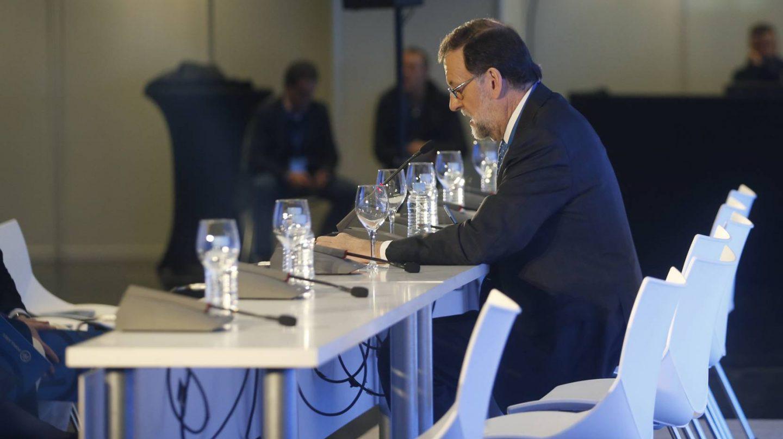 Rajioy, antes de la reunión de su ejecutiva