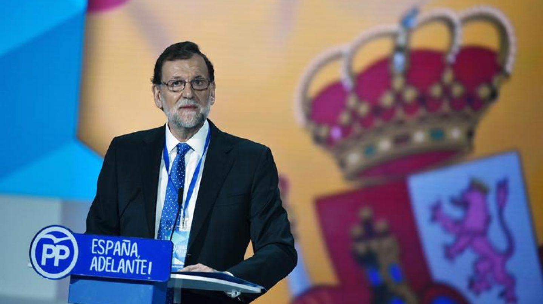Mariano Rajoy, durante su discurso en la clausura del Congreso del PP.