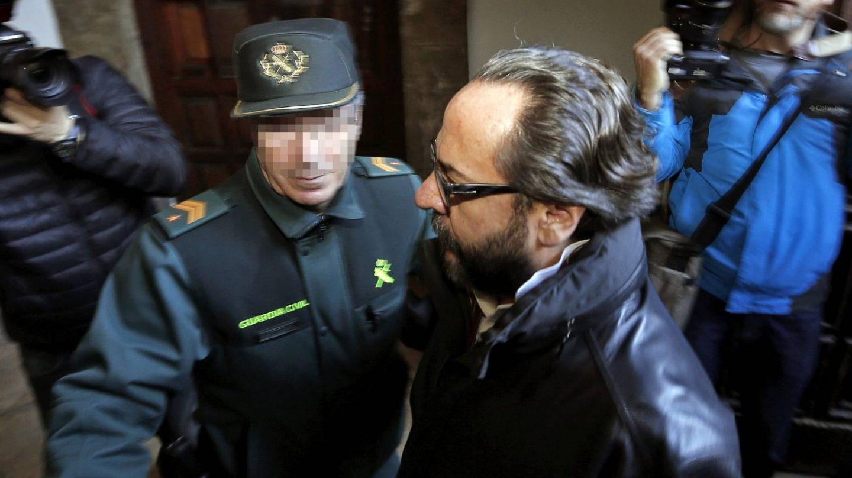 Alvaro Pérez, El Bigotes, en el Tribunal Superior de Valencia.