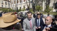 El Rey echa el resto en Barcelona con tres actos y tres audiencias en 24 horas
