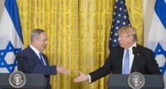 Netanyahu y Trump en la Casa Blanca
