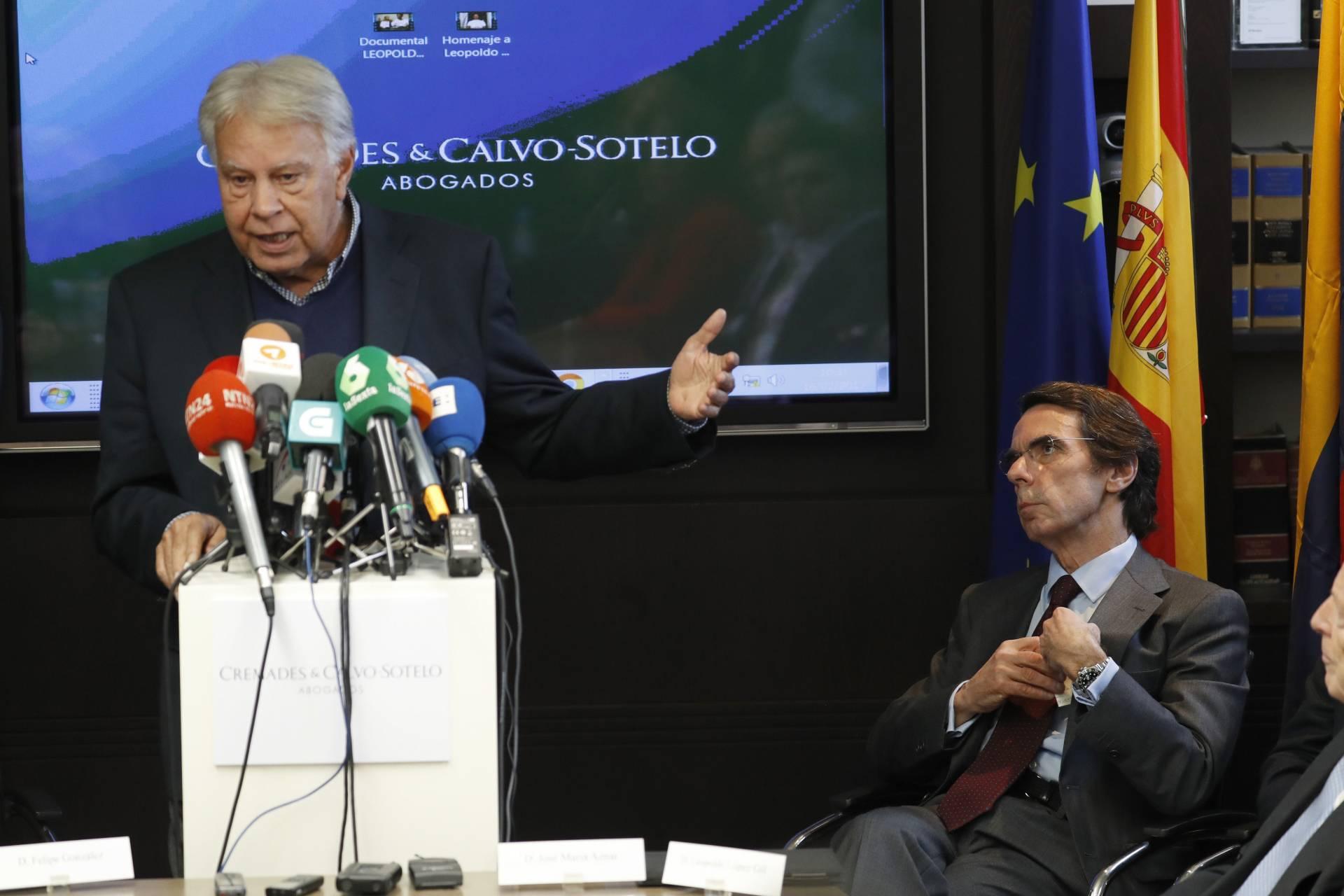 Felipe Gonzalez y José María Aznar